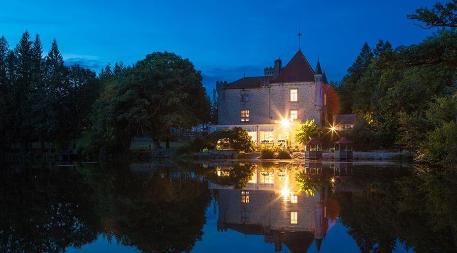 Romantisch dineren au Château